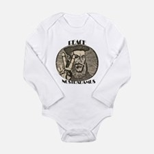 PEACE NOSTRADAMUS (2) Long Sleeve Infant Bodysuit