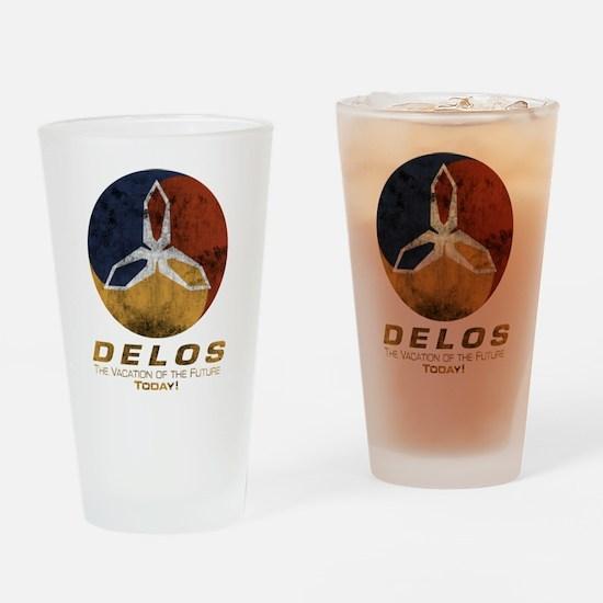 Westworld - Delos Logo Drinking Glass
