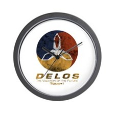 Westworld - Delos Logo Wall Clock