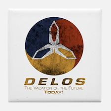 Westworld - Delos Logo Tile Coaster