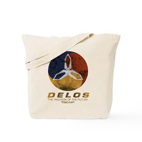 Westworld - Delos Logo Tote Bag
