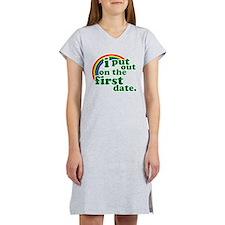 First Date Women's Nightshirt