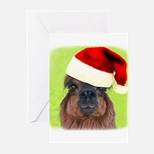 Alpaca Christmas Greeting Cards (Pk of 10)