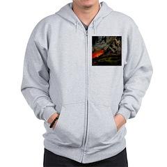 Art & Logo Shirt Collection Zip Hoodie