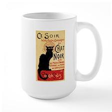 Chat Noir Art Nouveau Mug