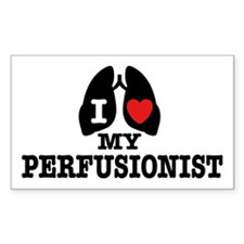 I Love My Perfusionist Decal