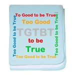 OYOOS Too Good to be True design baby blanket