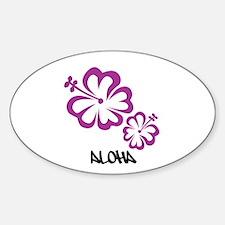 Cute Local hawaiian Sticker (Oval)