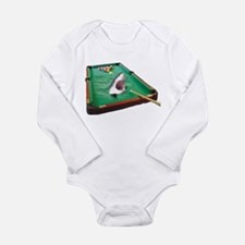 Pool Shark Long Sleeve Infant Bodysuit