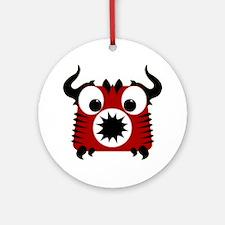 Cute Little Devil Ornament (Round)