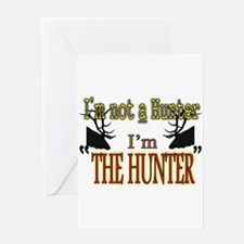 The Hunter Greeting Card