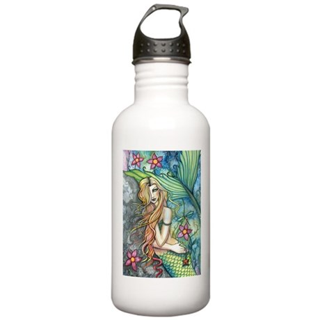 Colorful Mermaid Stainless Water Bottle 1.0L