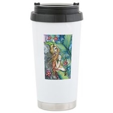 Colorful Mermaid Travel Mug