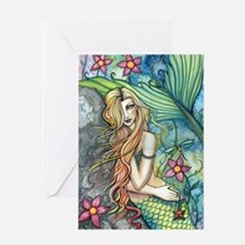Colorful Mermaid Greeting Card