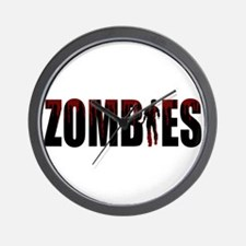 Zombies Wall Clock