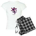 Lion - Fraser of Reelig Women's Light Pajamas