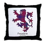 Lion - Fraser of Reelig Throw Pillow
