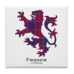 Lion - Fraser of Reelig Tile Coaster