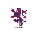 Lion - Fraser of Reelig Sticker (Rectangle 10 pk)