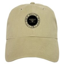USPHS Baseball Captain <BR>White Or Khaki Baseball Cap