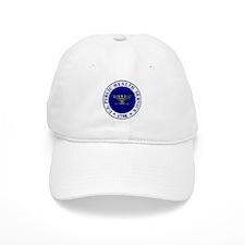 USPHS Baseball Captain<BR>White Baseball Cap