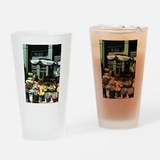Cute Beaten Drinking Glass