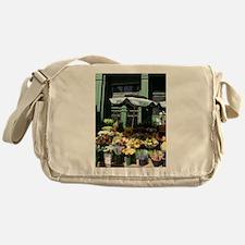 Unique Beaten Messenger Bag