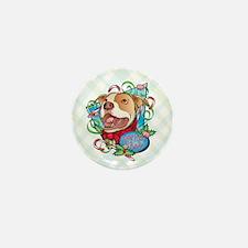 Peppermint Bark Mini Button