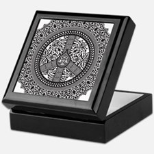 Peace Arabesque Keepsake Box