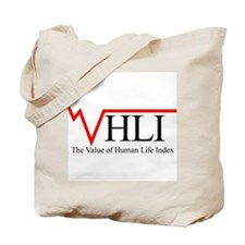 The Value of Human Life Index Tote Bag