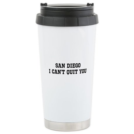 San Diego I Can't Quit You Stainless Steel Travel