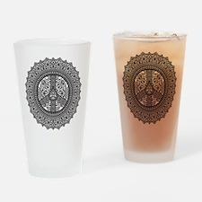 Peace Arabesque Drinking Glass