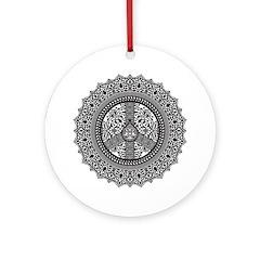 Peace Arabesque Ornament (Round)