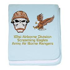 Unique Army rangers baby blanket