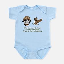 Cute 101st airborne screaming eagles Infant Bodysuit
