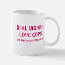 real women love cops Mugs
