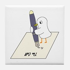 Poet Tile Coaster