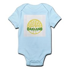 Oakland Pride Tree Light (www Infant Bodysuit