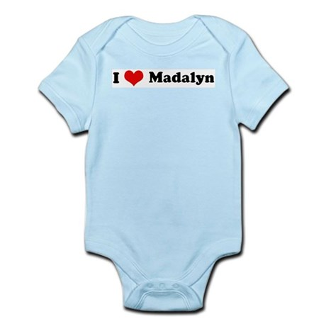 I Love Madalyn Infant Creeper