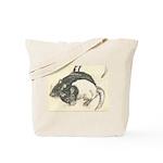 Two Tone Rats Tote Bag