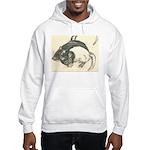 Two Tone Rats Hooded Sweatshirt
