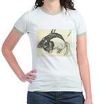 Two Tone Rats Jr. Ringer T-Shirt
