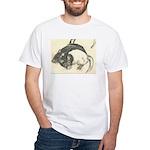 Two Tone Rats White T-Shirt