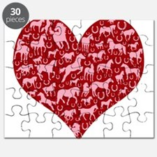 Horsey Heart Puzzle