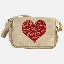 Horsey Heart Messenger Bag