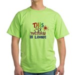 Grandparents Green T-Shirt