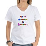 Grandparents Women's V-Neck T-Shirt