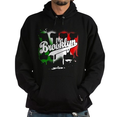 Brooklyn NY Italian Graffiti Hoodie (dark)