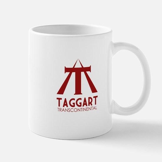 Taggart Transcontinental Red Mug