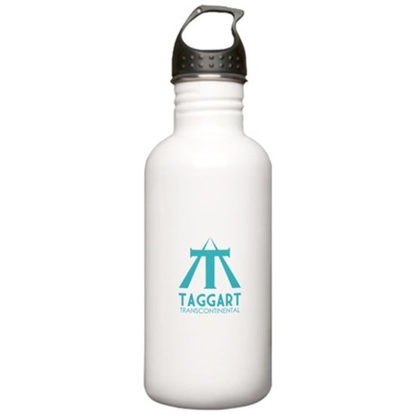 Taggart Transcontinental Blue Stainless Water Bott